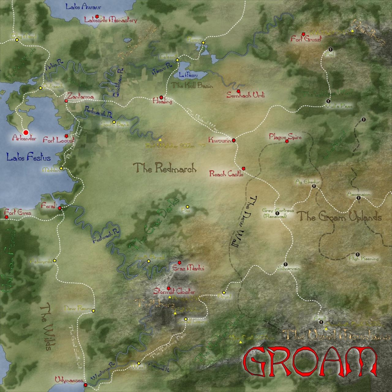An area that forms part of the Ansium Region in the Cartographers Guild World Building Project (CWBP).