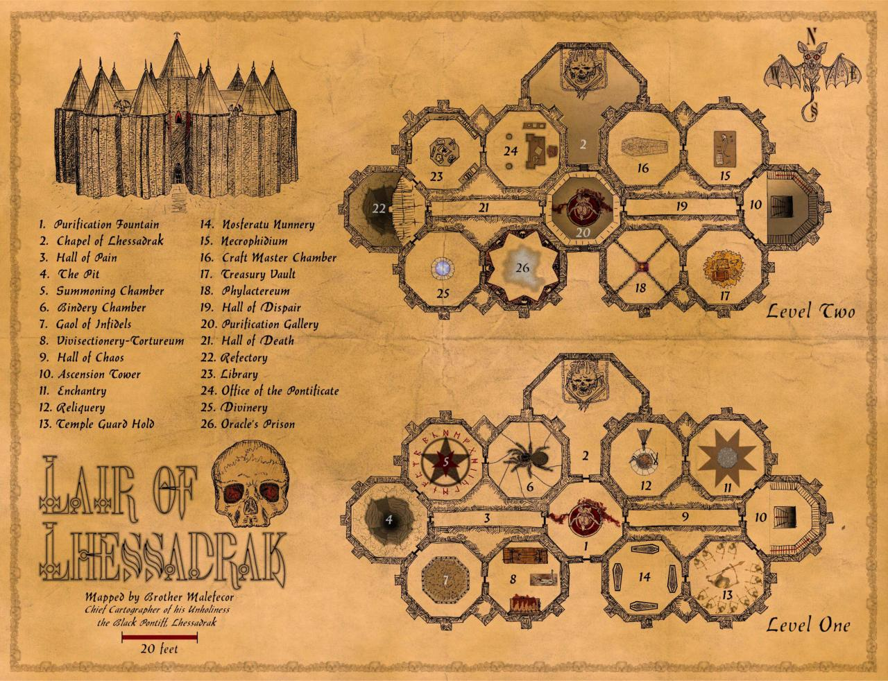 Lair of Lhessadrak - 2008 Contest Entry on Dndadventure.com