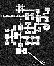 castle ruins dungeon