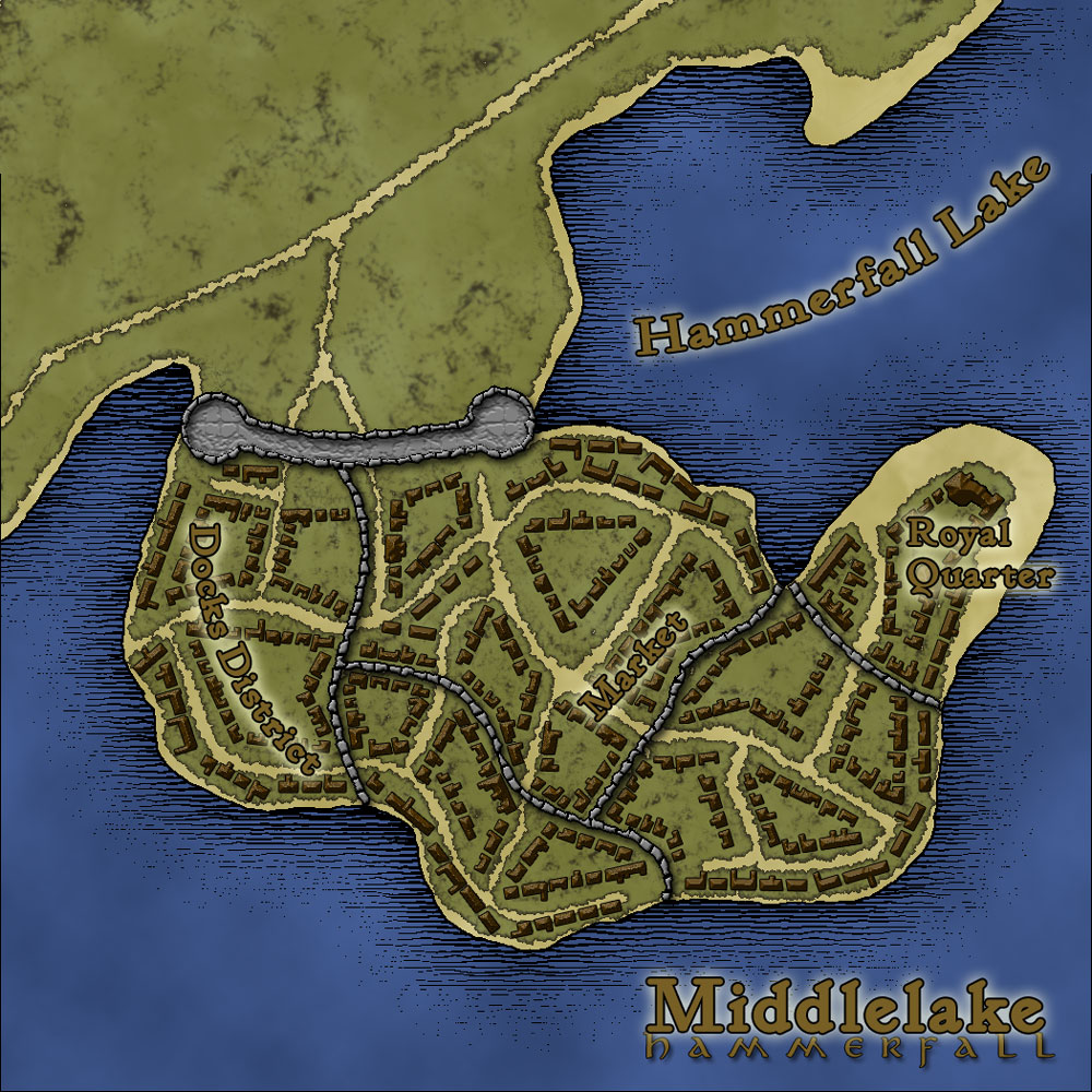 Middlelake, Hammerfall