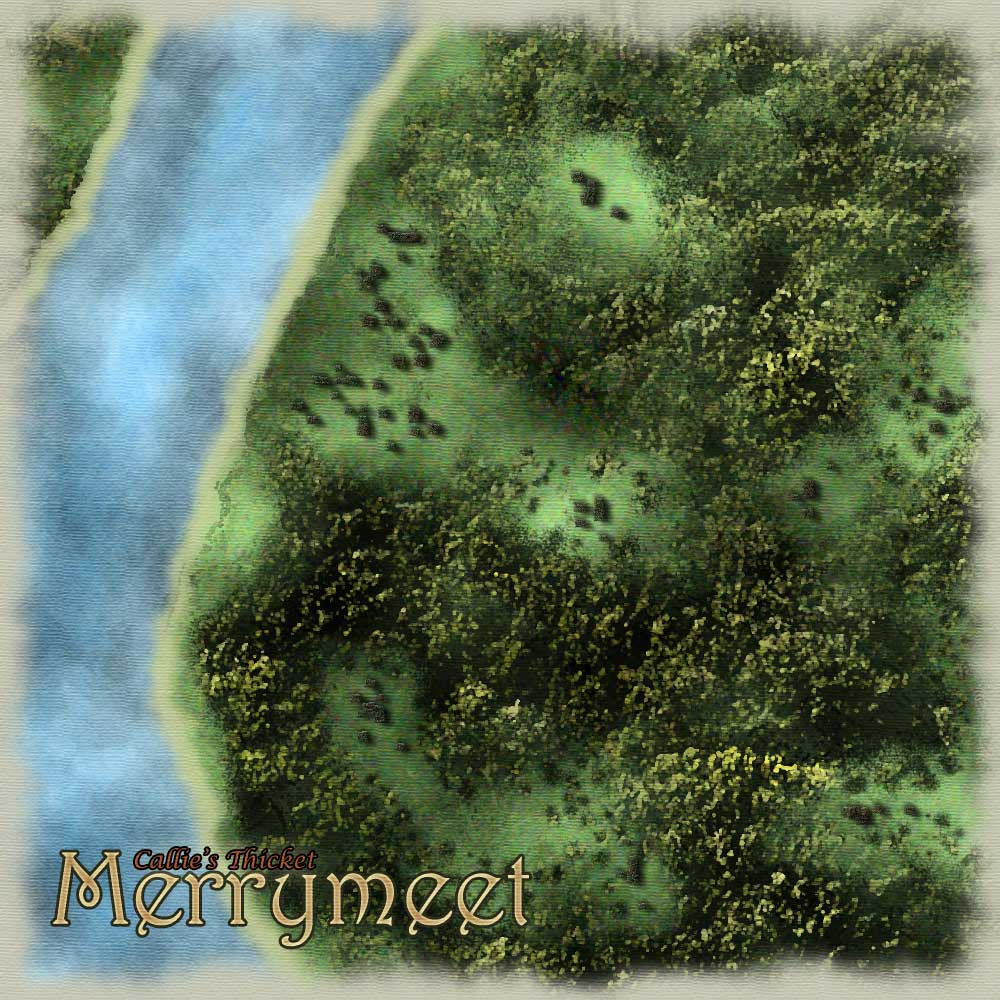 Merrymeet, a village in Callie's Thicket