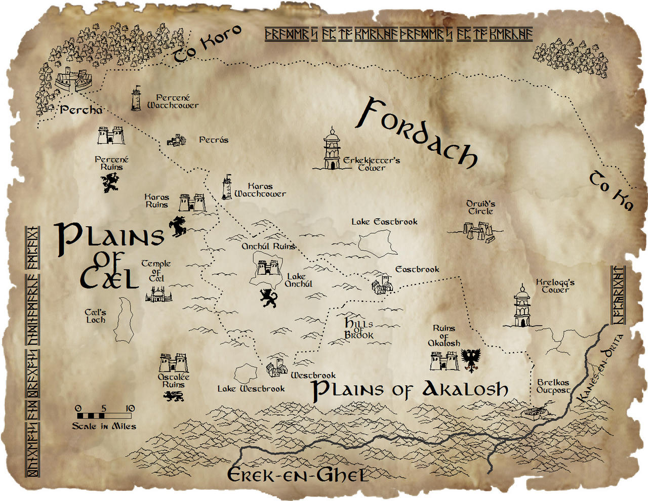 Trader's Map to Percha