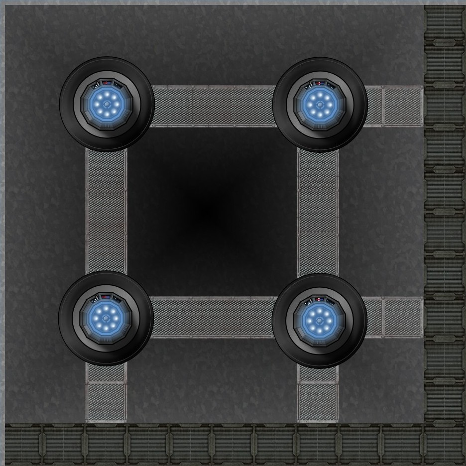 Tractor Beam Pit