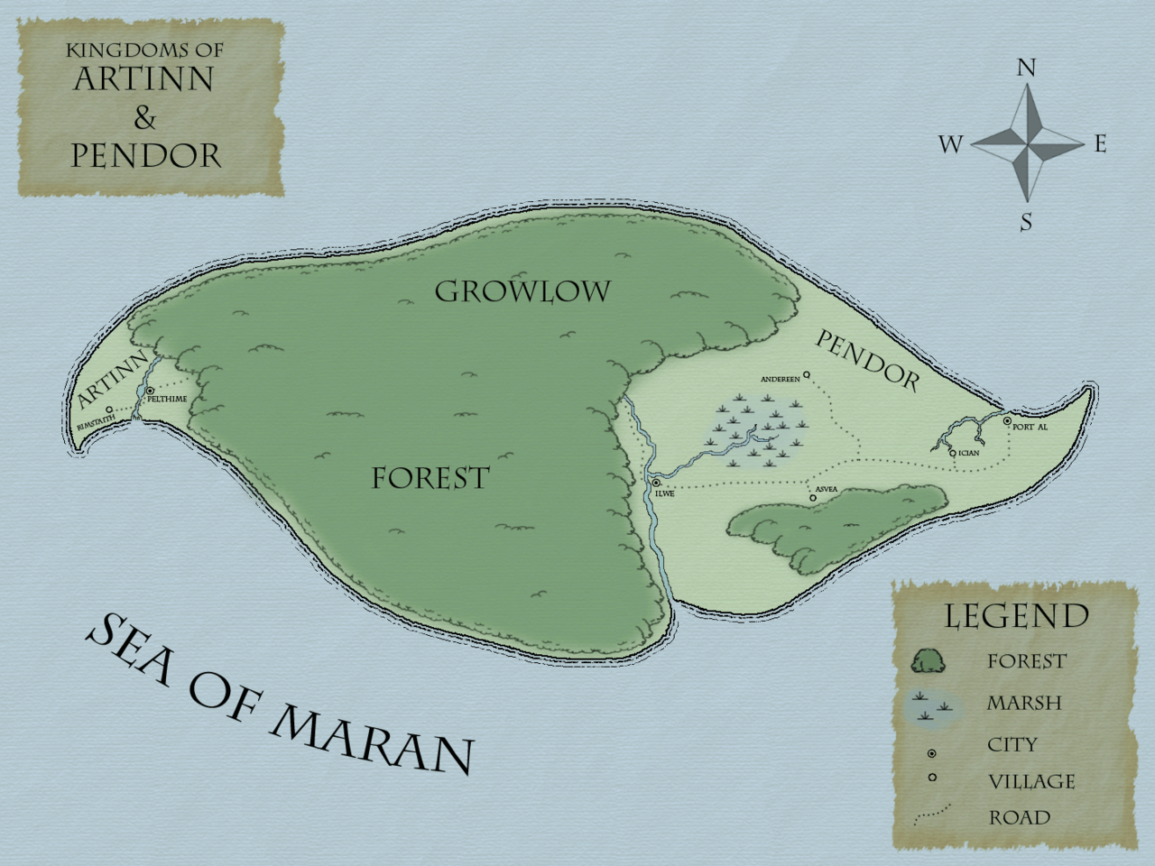 Beginner island kaart 4