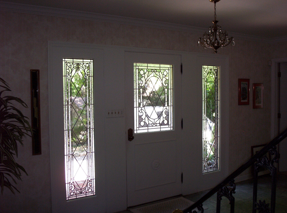 Gothic Style Entryway; 2002; Spectrum textured clears