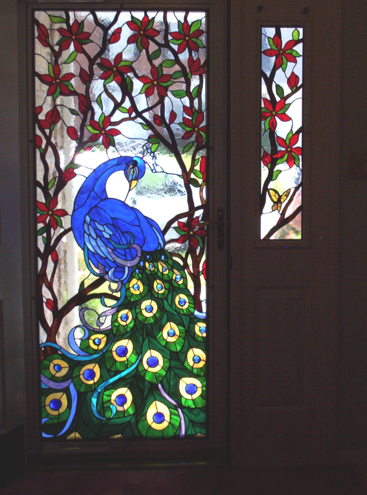 Peacock entryway; 2008; Spectrum cathedrals