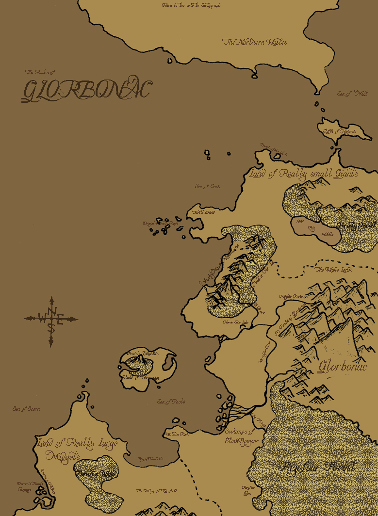 This is Glorbonac, the land in which my Animated comic is set.