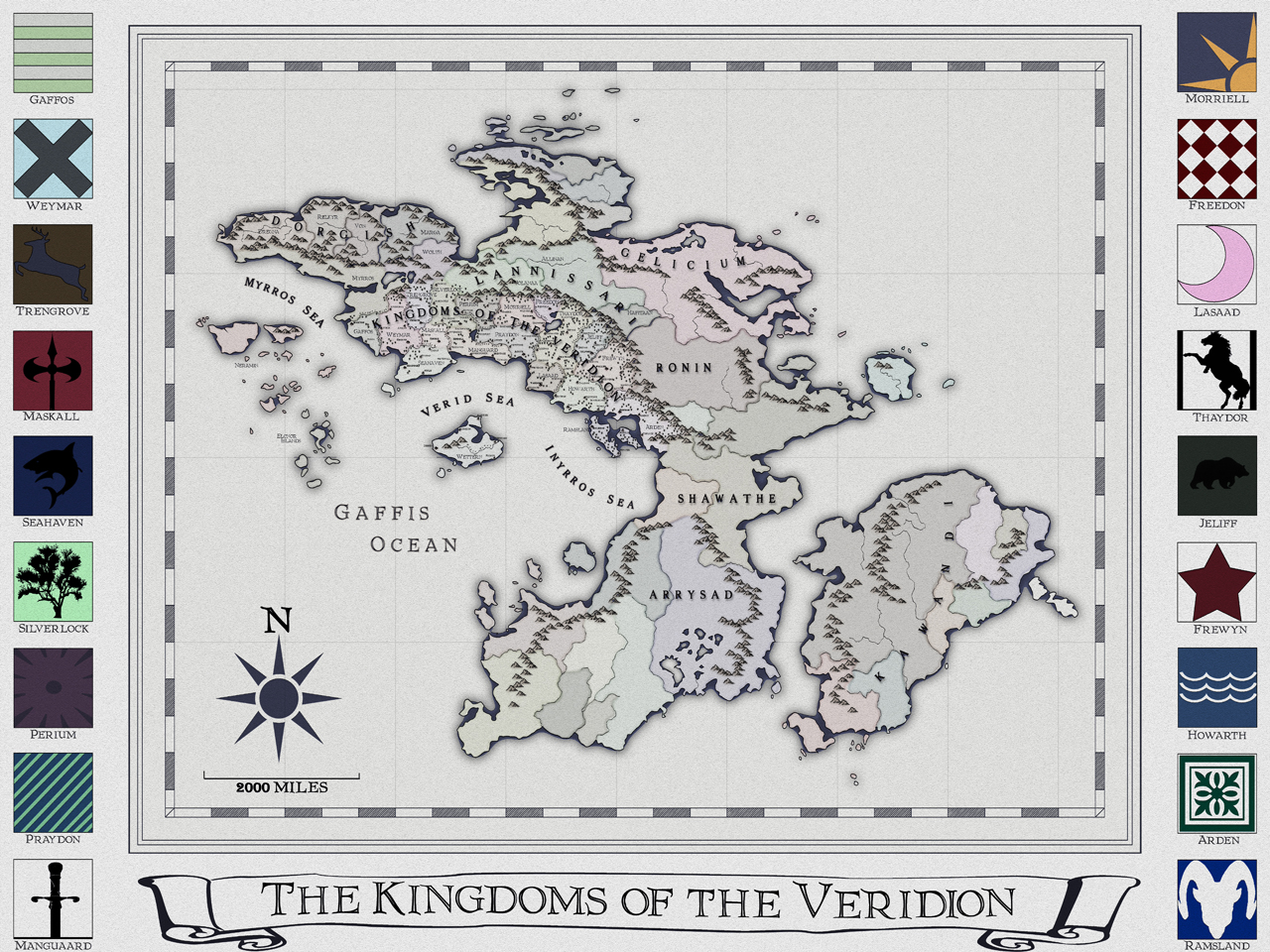 The Kingdoms of the Veridion