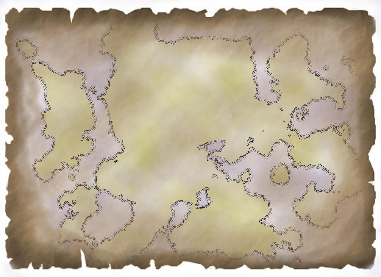 continent on parchment x1