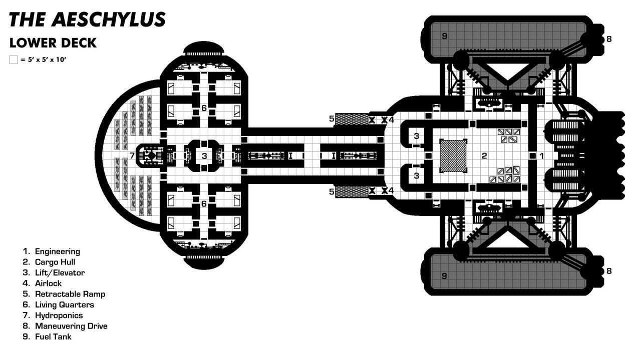 Aeschylus Lower Deck (Transport Ship)