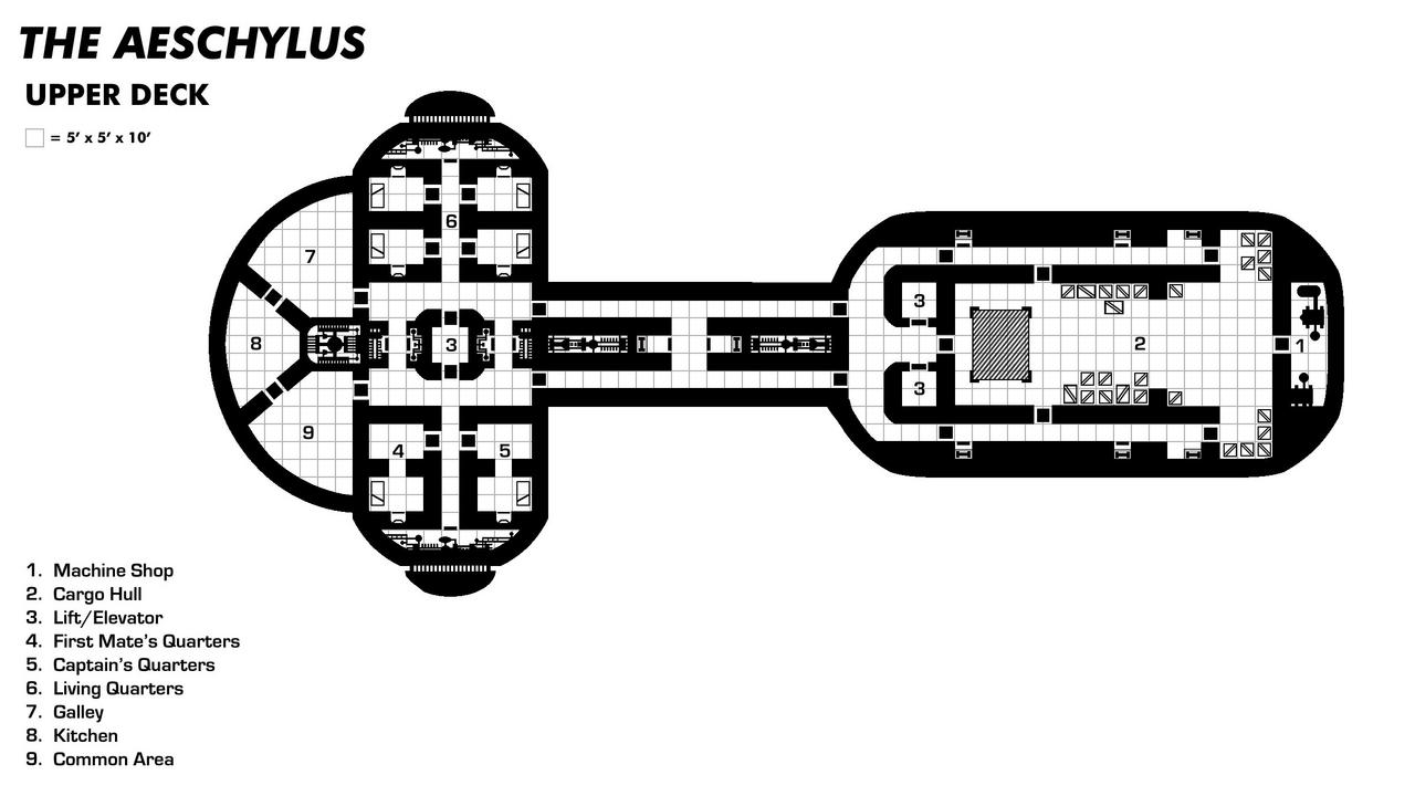 Aeschylus Upper Deck (Transport Ship)
