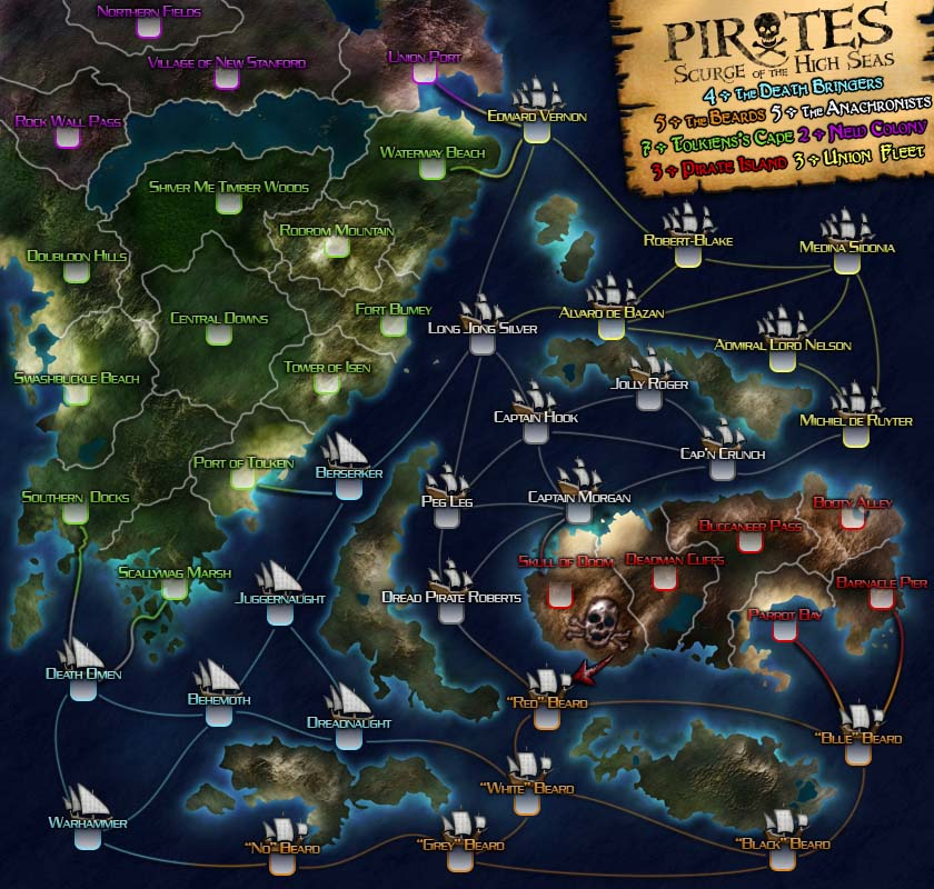 Pirates Map.  Lost a competition but used a CG tutorial to make the land.  It turned out quite well.