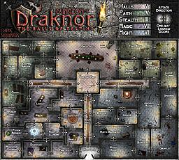 Dungeon of Draknor.  Very fun to add the details to the rooms.  The closes thing I have done to a dungeon map layout before.  But still far off and...
