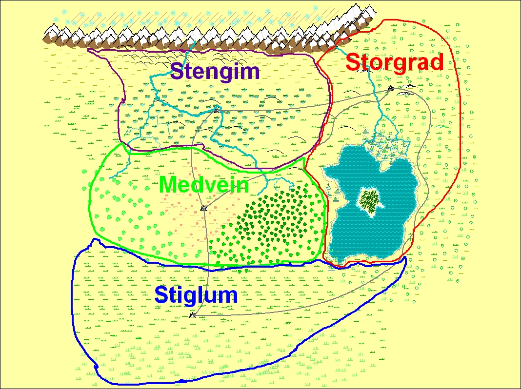 Imperium Original Kingdom Map