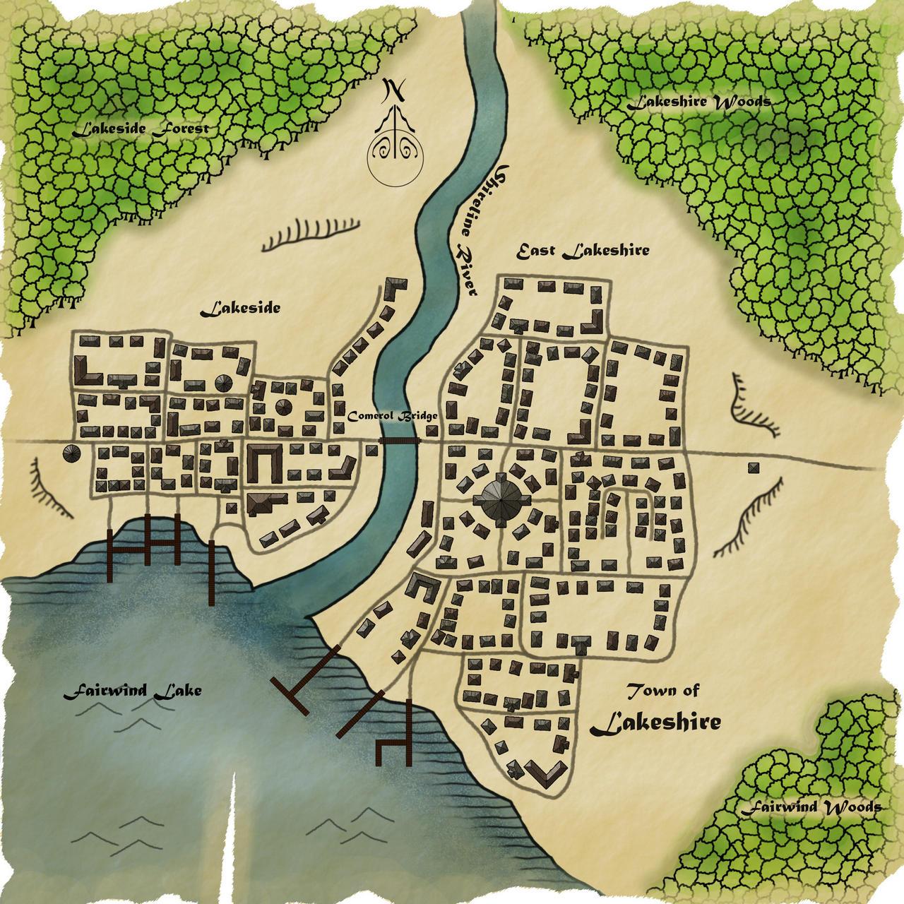 Lakeshire Map