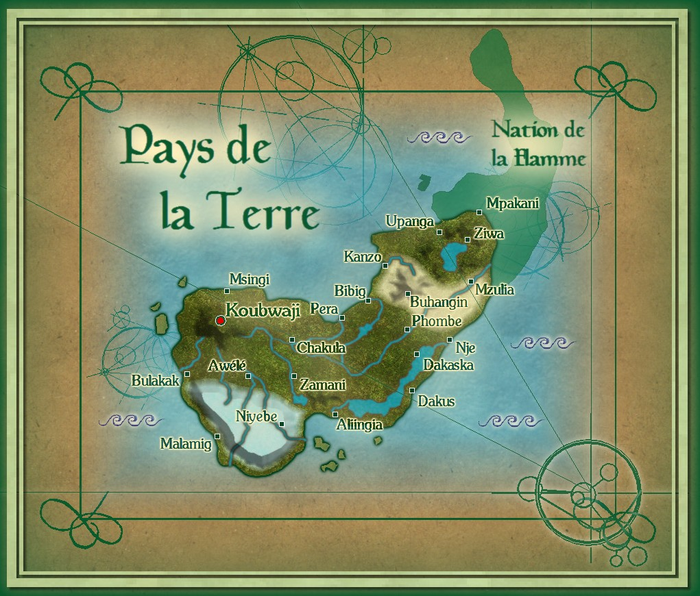 Pays de la terre version parchemin