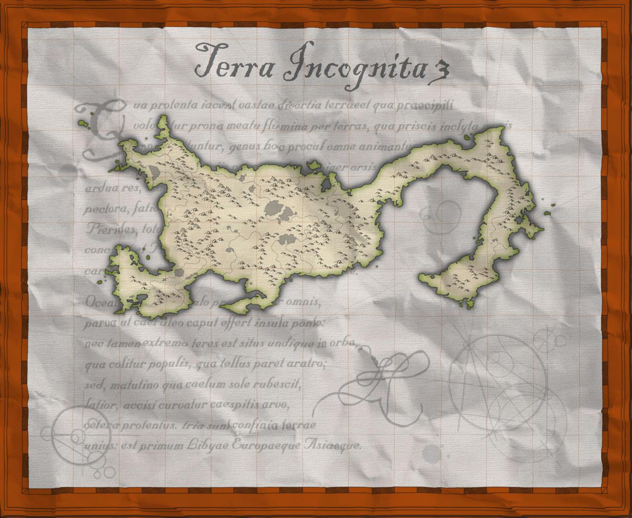 CC3 Terra incognita 3 V5 papier froiss�
