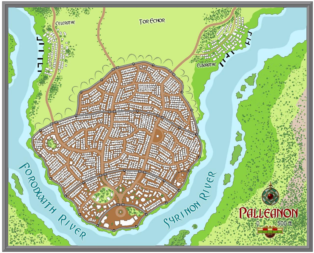 The City of Palleanon