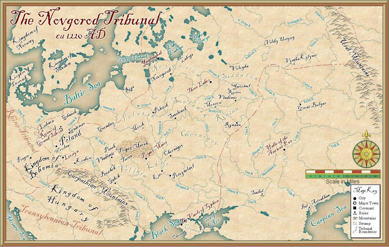 novgorod tribunal map