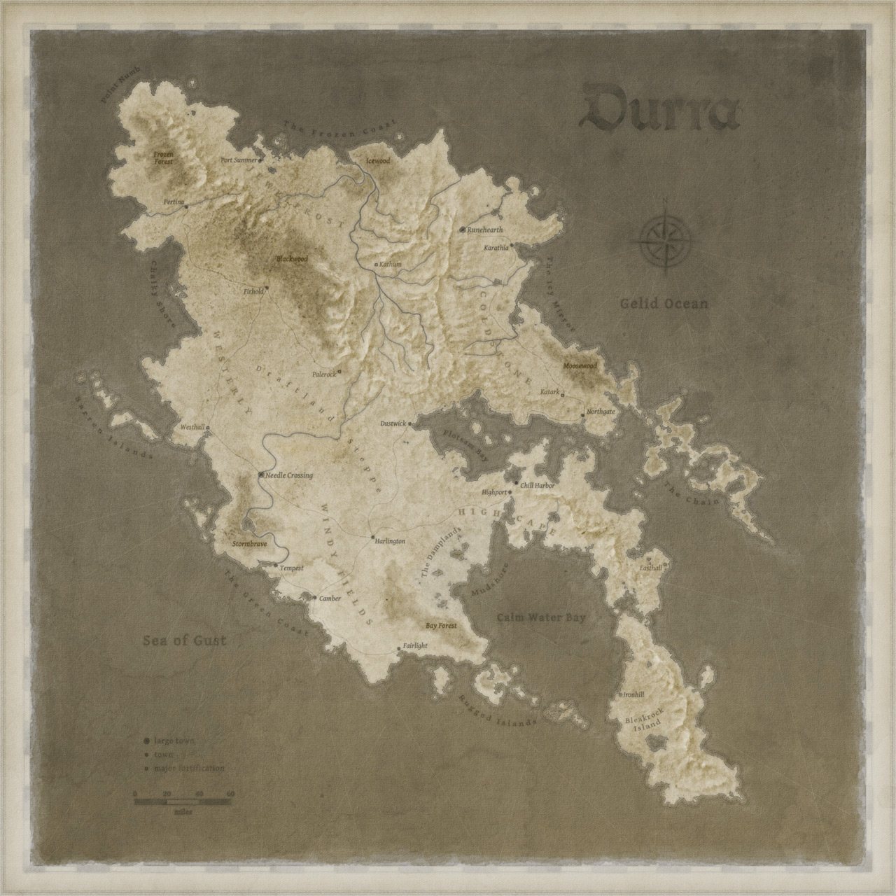 Durra - sepia version