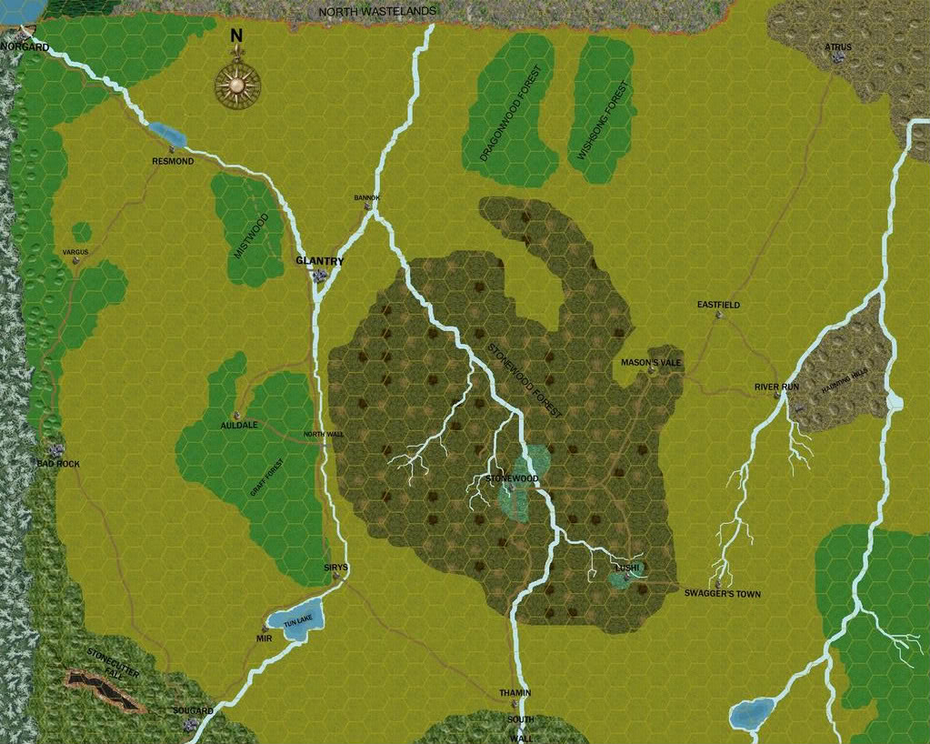 A Northern Kingdom in the Freelands of Godsfall.
