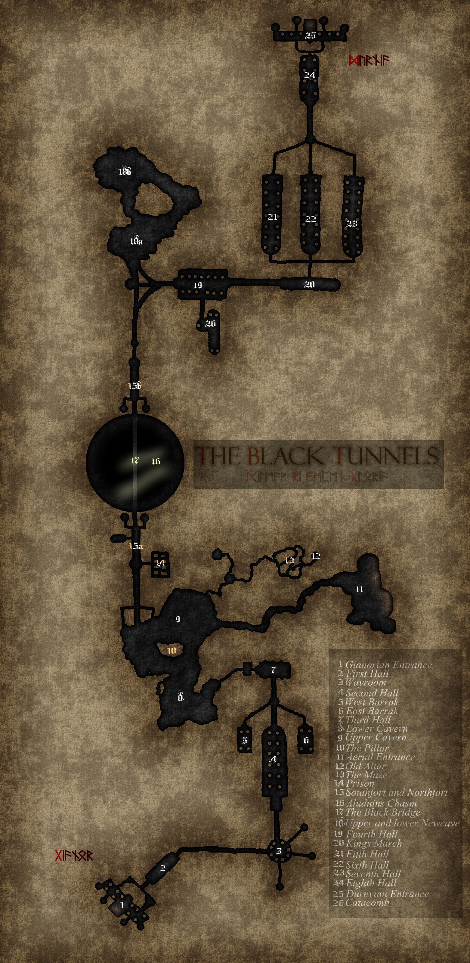 The Black Tunnels