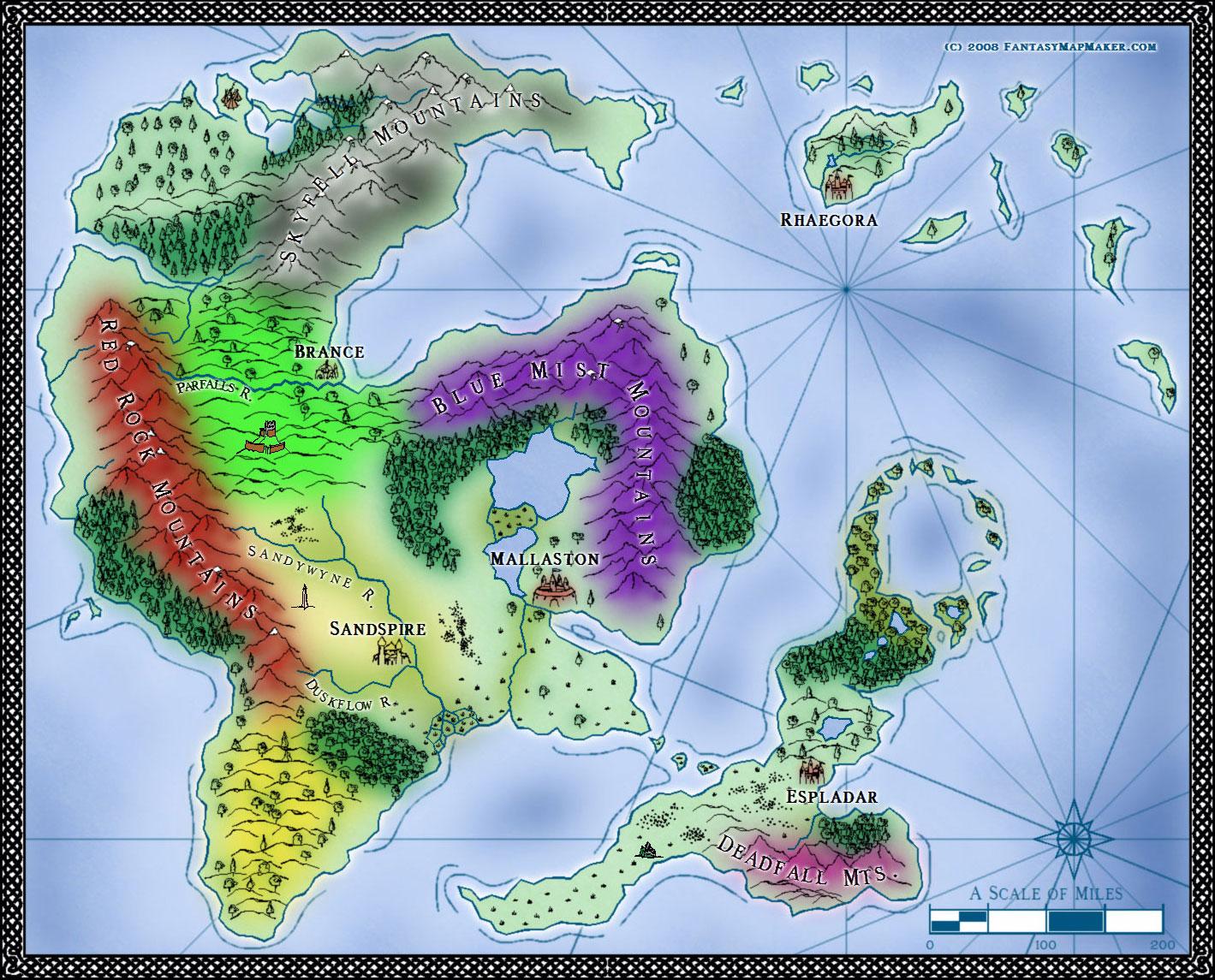Sarah Wroot style map