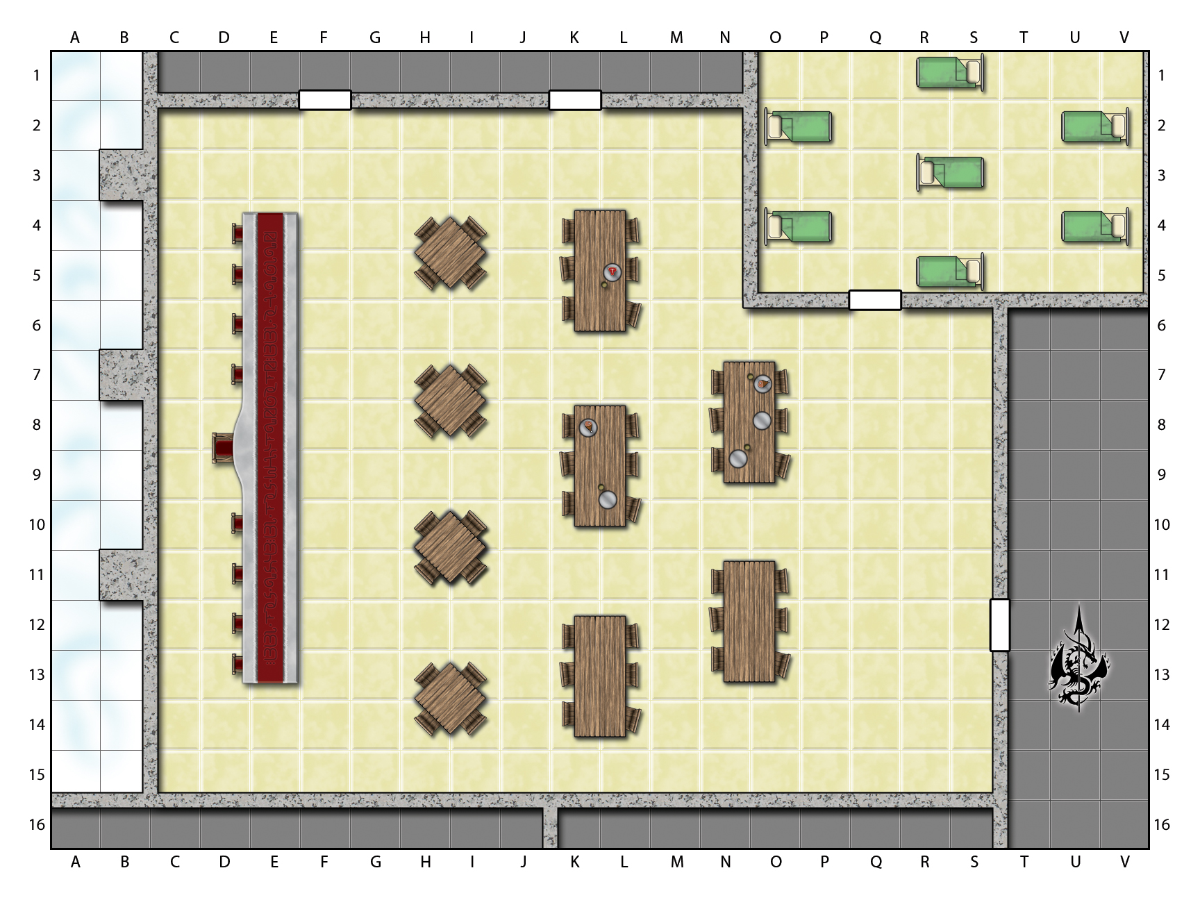 First Floor - Dormitories
