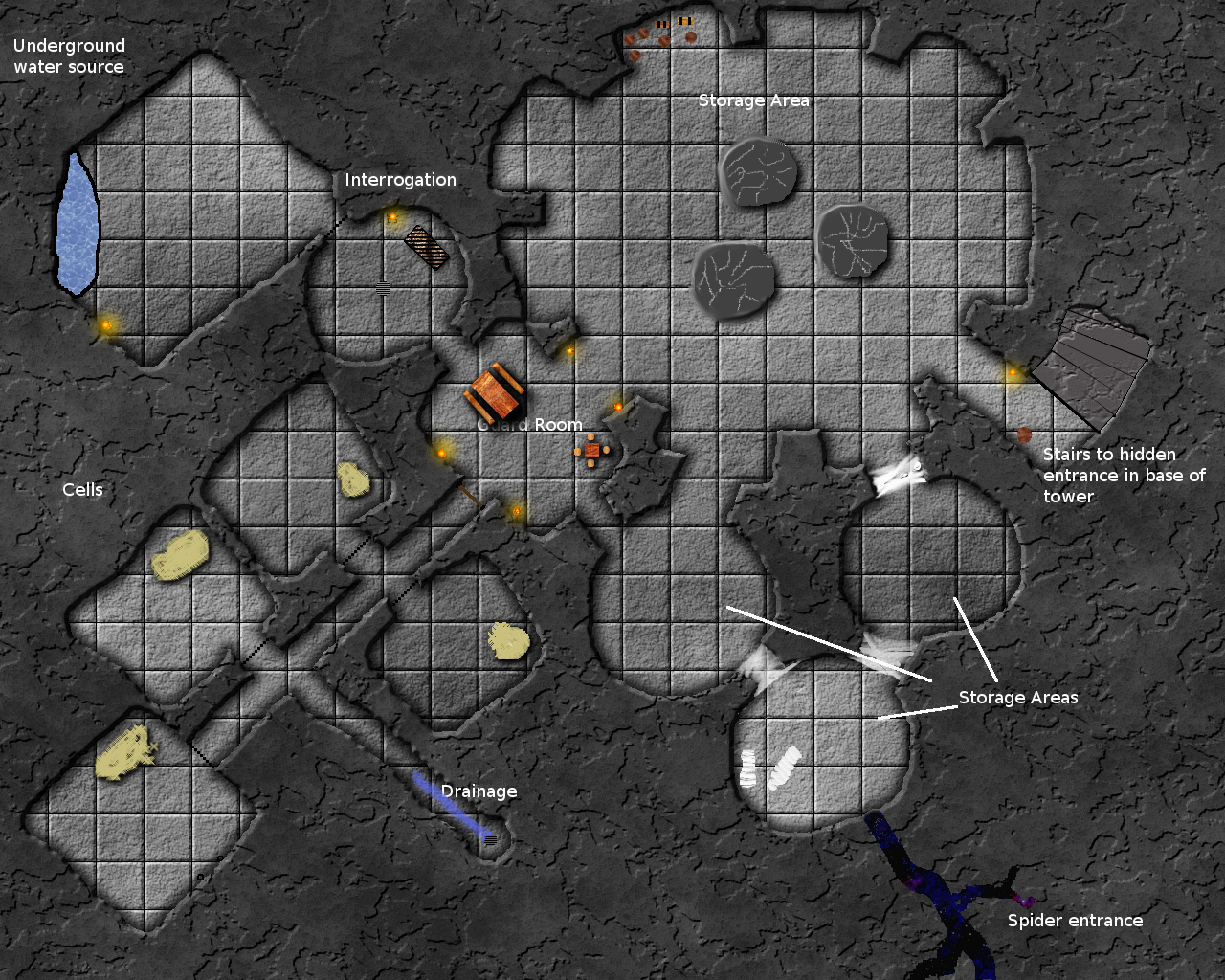 Holmkeep level -1: What lies beneath the Castle?