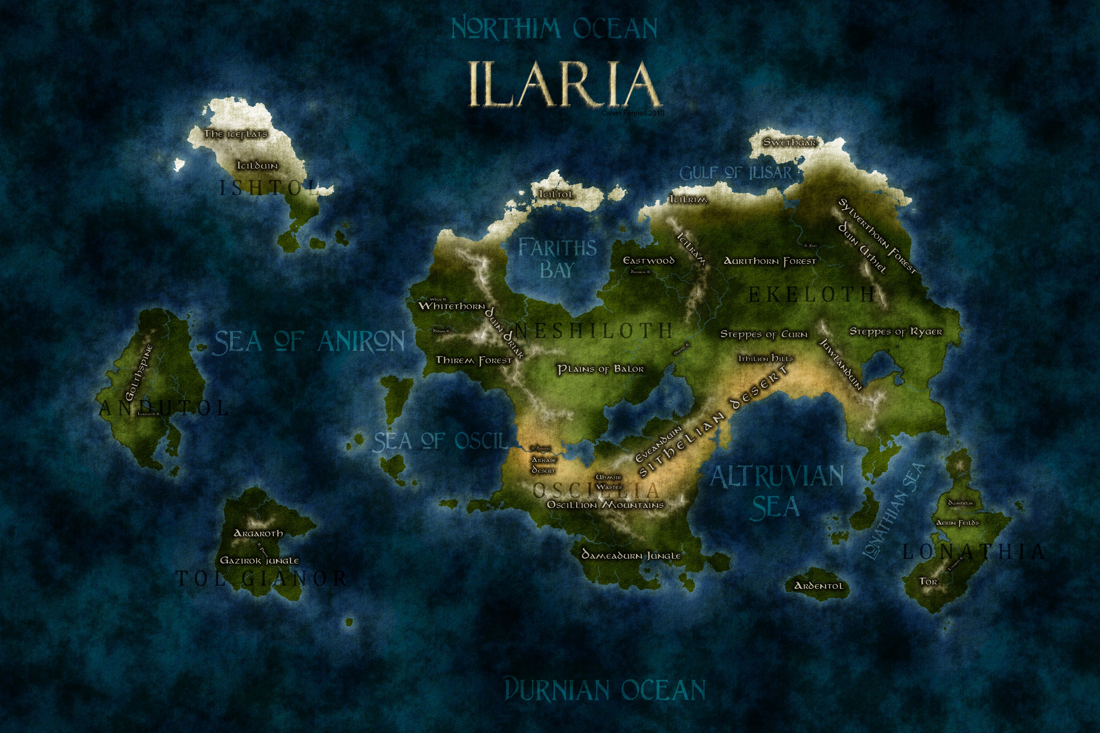 Ilaria (geographical)