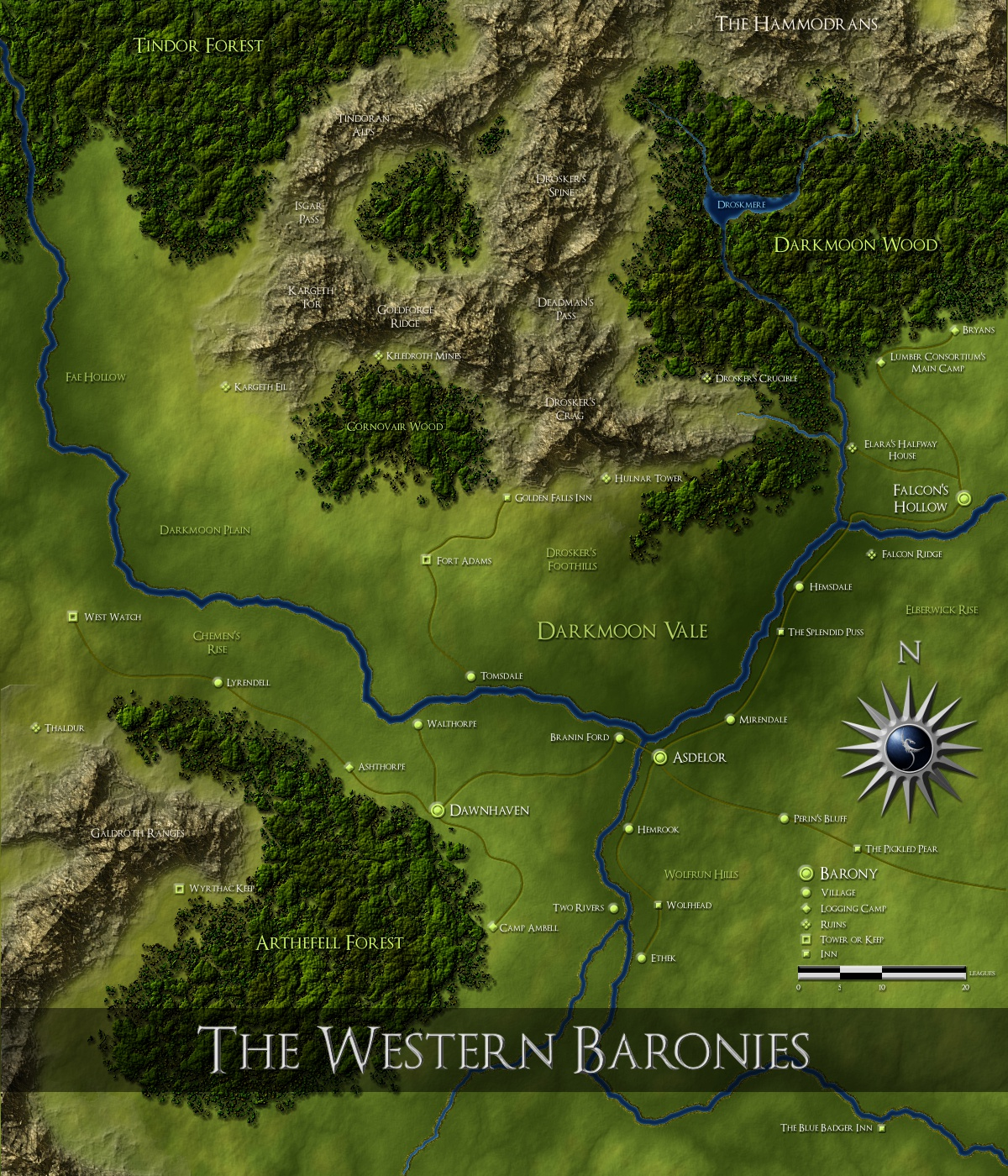 The Western Baronies