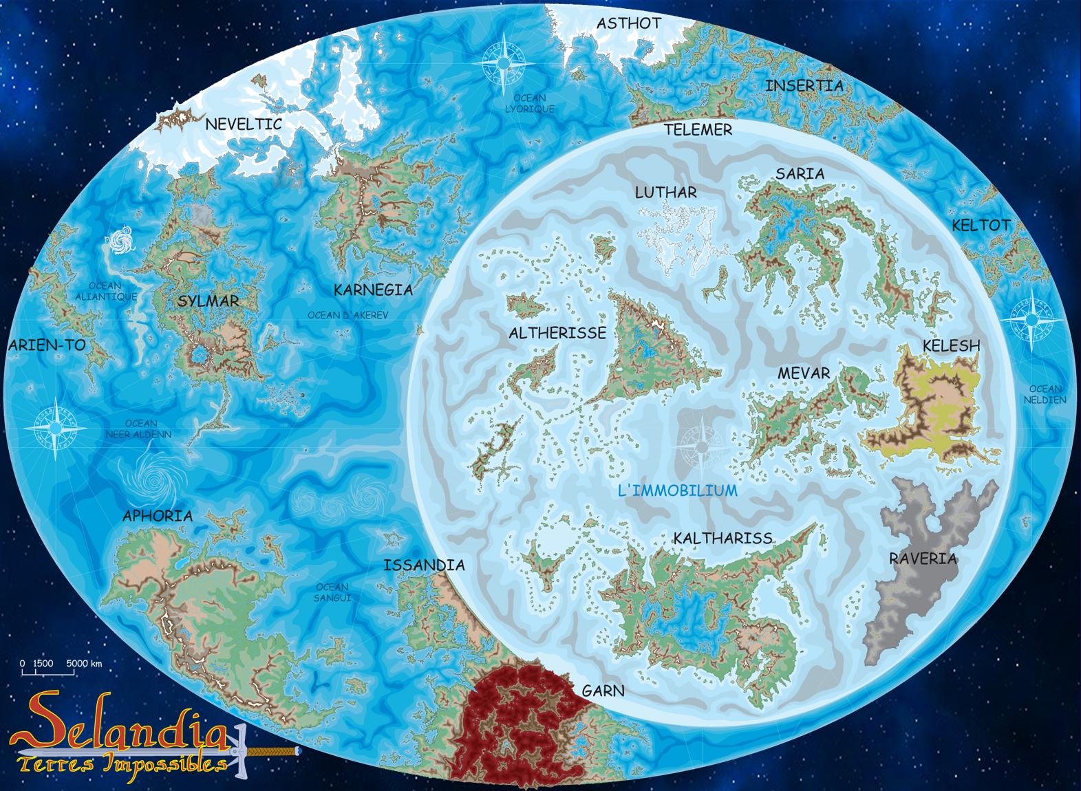 monde continent