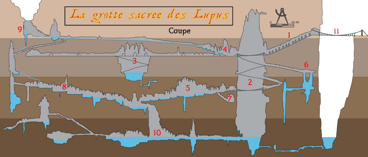 grotte lupus coupe