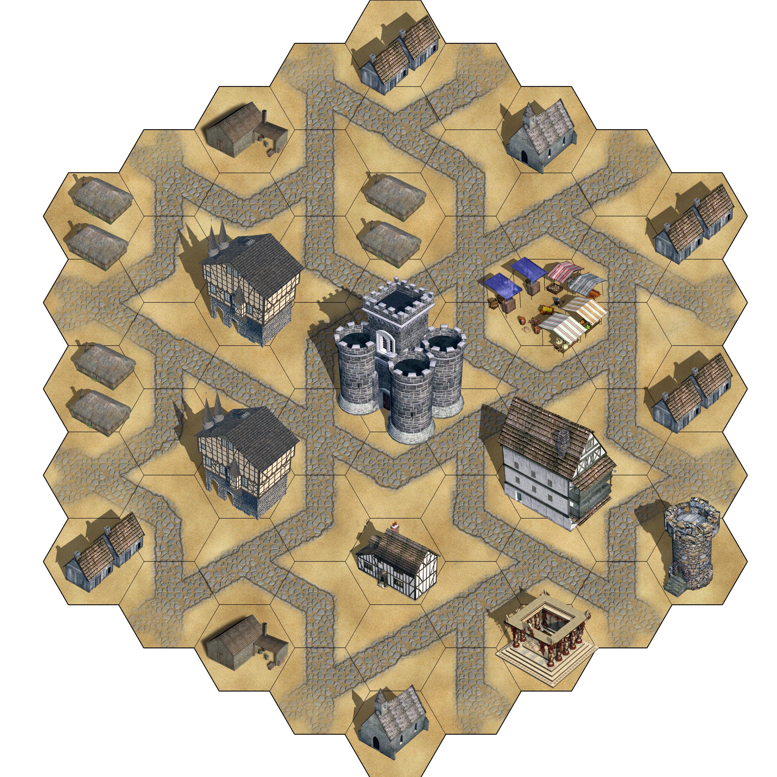 Mechabots geomorphic tile
