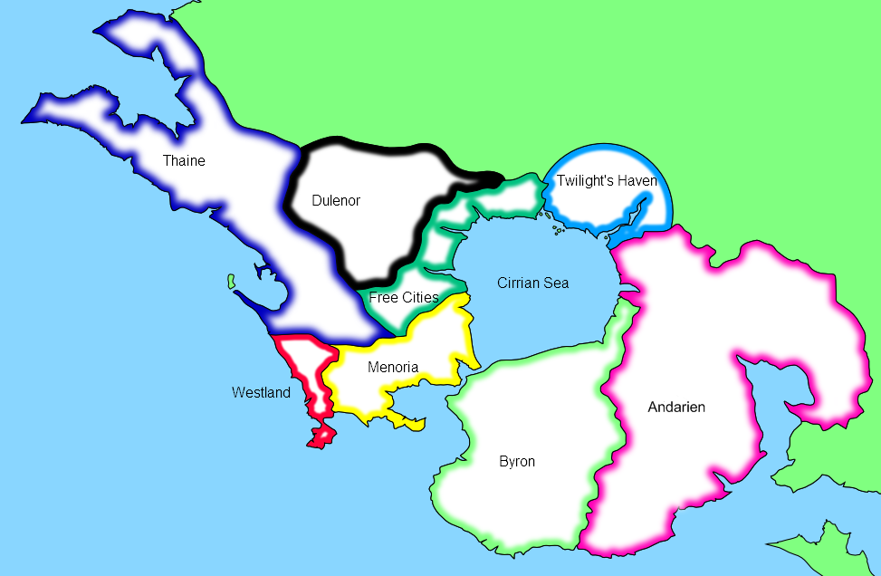 Enderra - Testing a border style