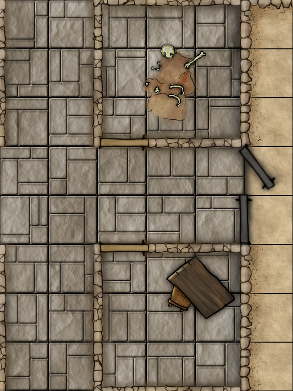PF Module D0   Dwarven Monastery   Area 4 and 5 revised