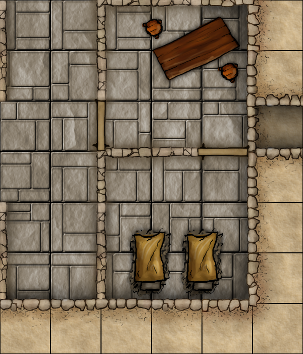 PF Module D0   Dwarven Monastery   Area 7 and 8 revised