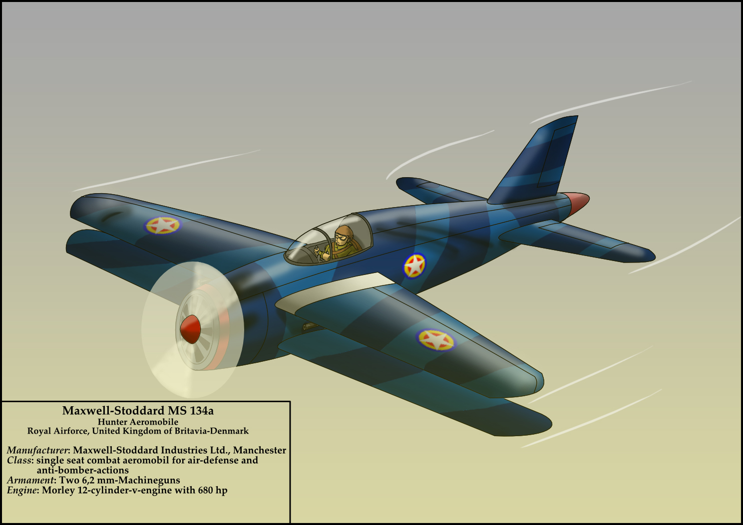 Maxwell Stoddard MS 134a
