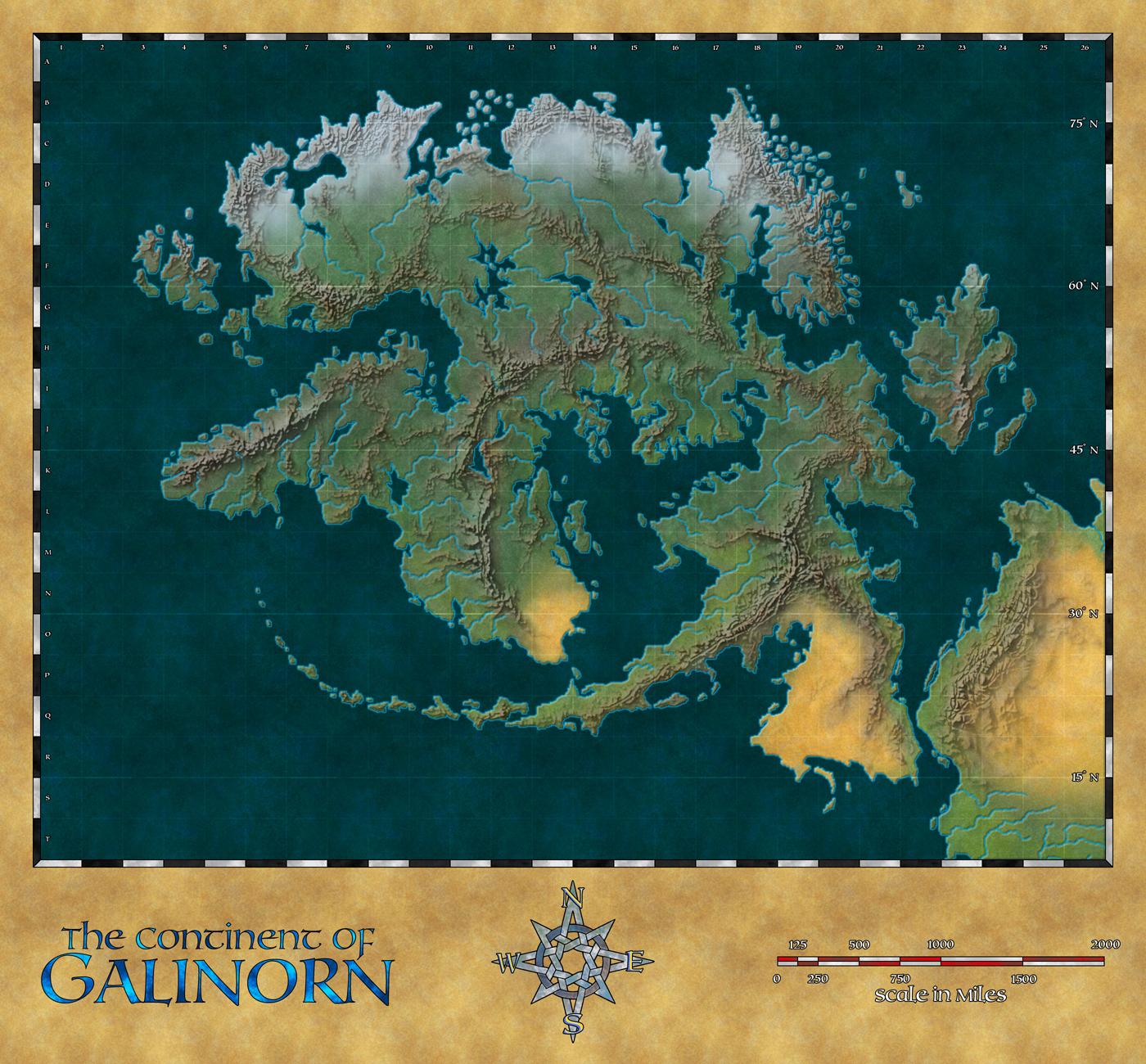 Continent of Galinorn