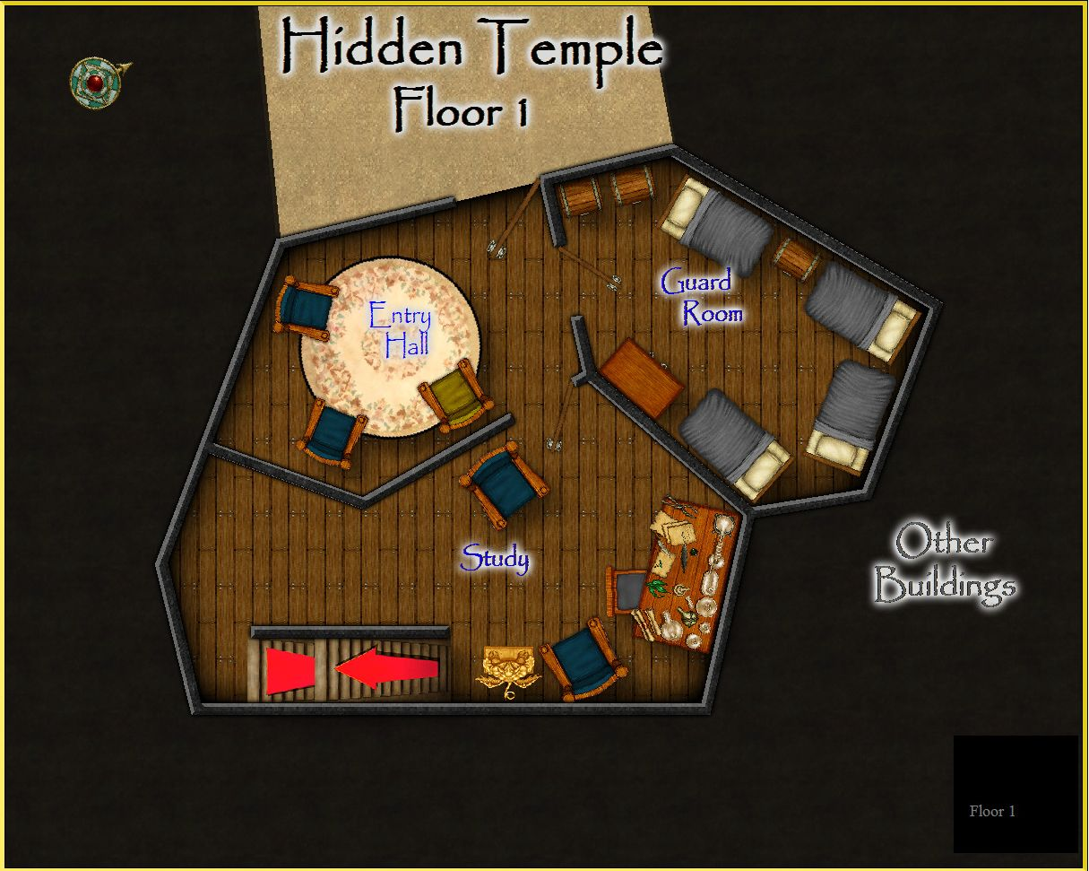 Hidden Temple Floor 1