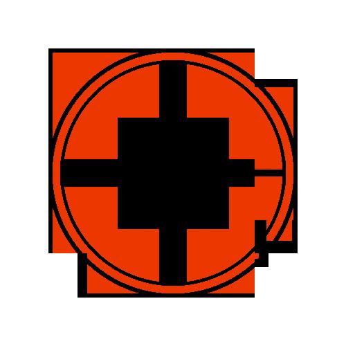 compass shuriken circle