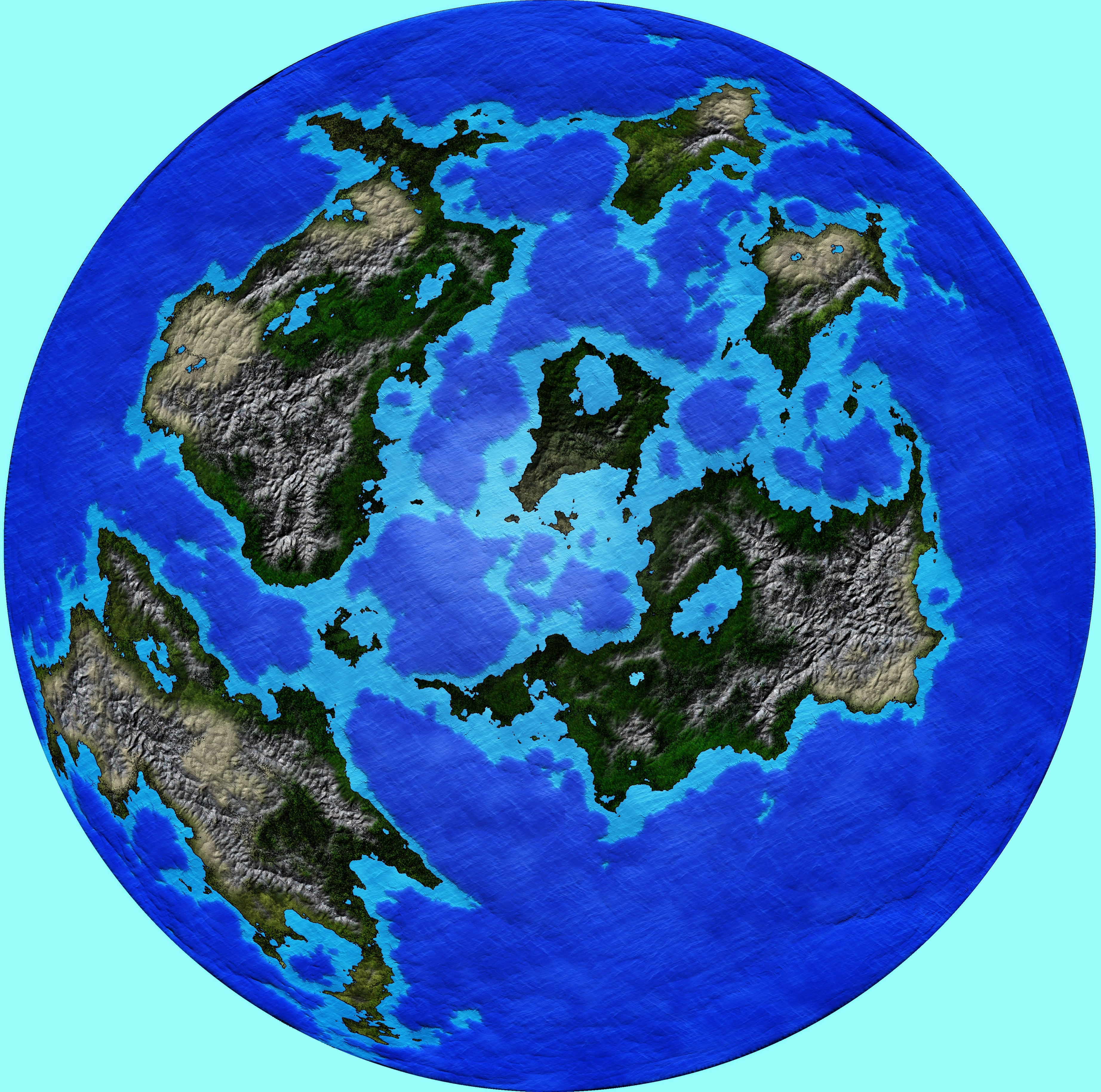 Tuloras World - Working Copy for world building