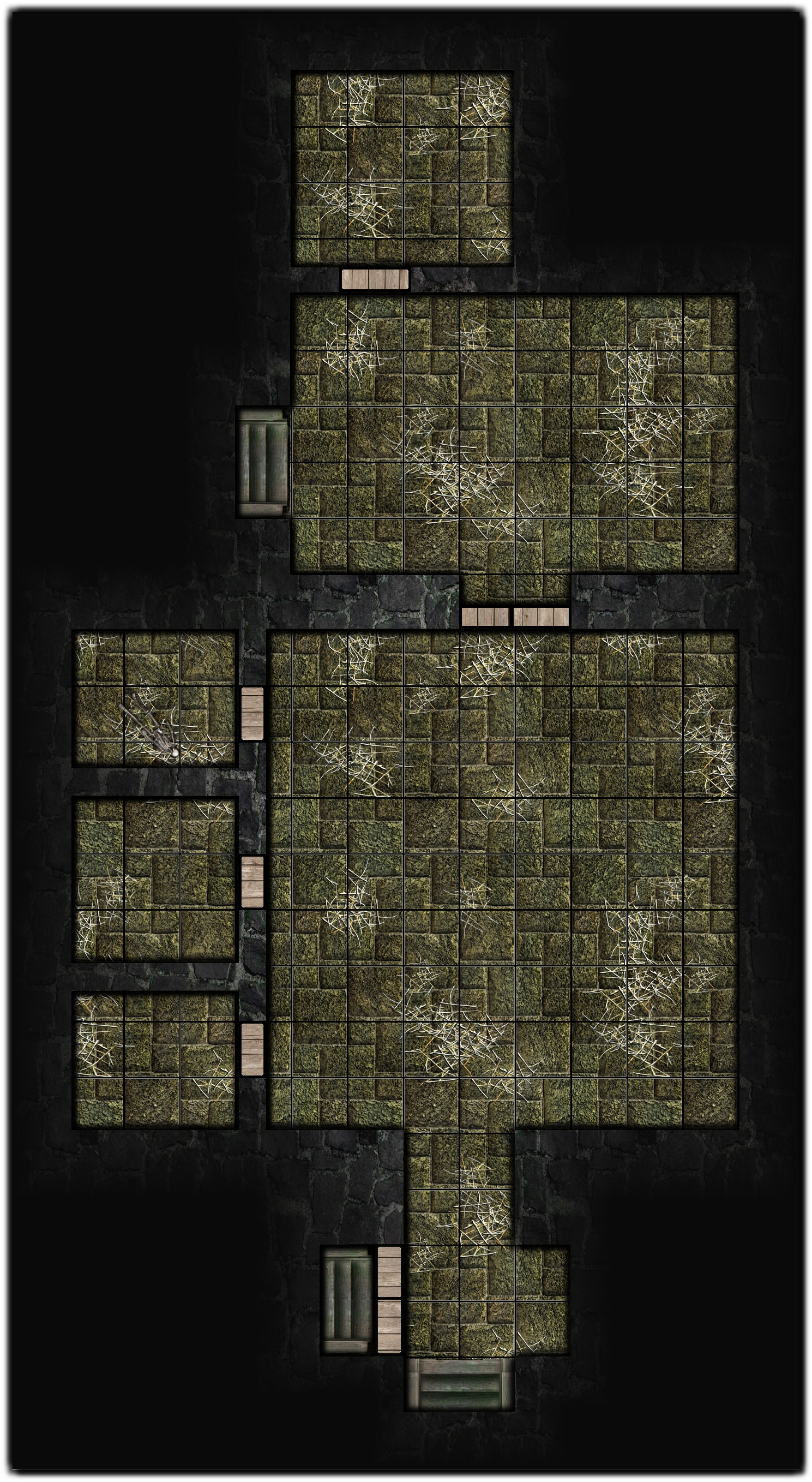 Fallcrest - The Tower of Waiting - B2   Rooms 3,4,5,6 & 7 - 4e D&D