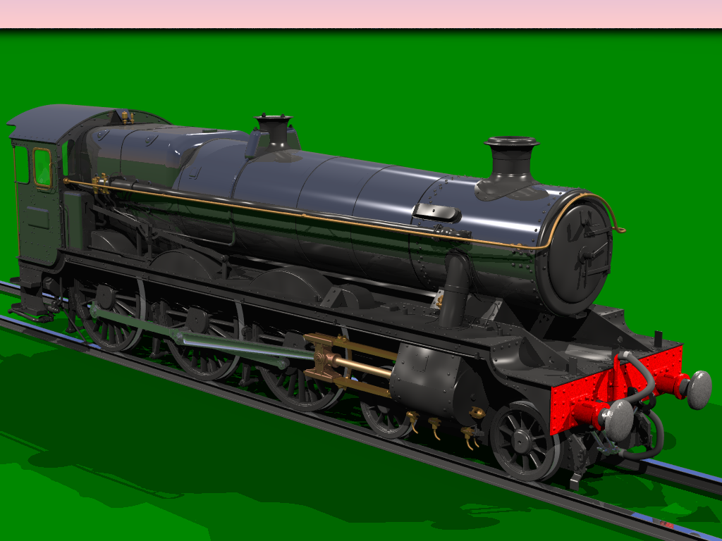 "Anyone ""into"" steam locos will obviously know that this is a model of a GWR Modified Hall Class loco. Doh!