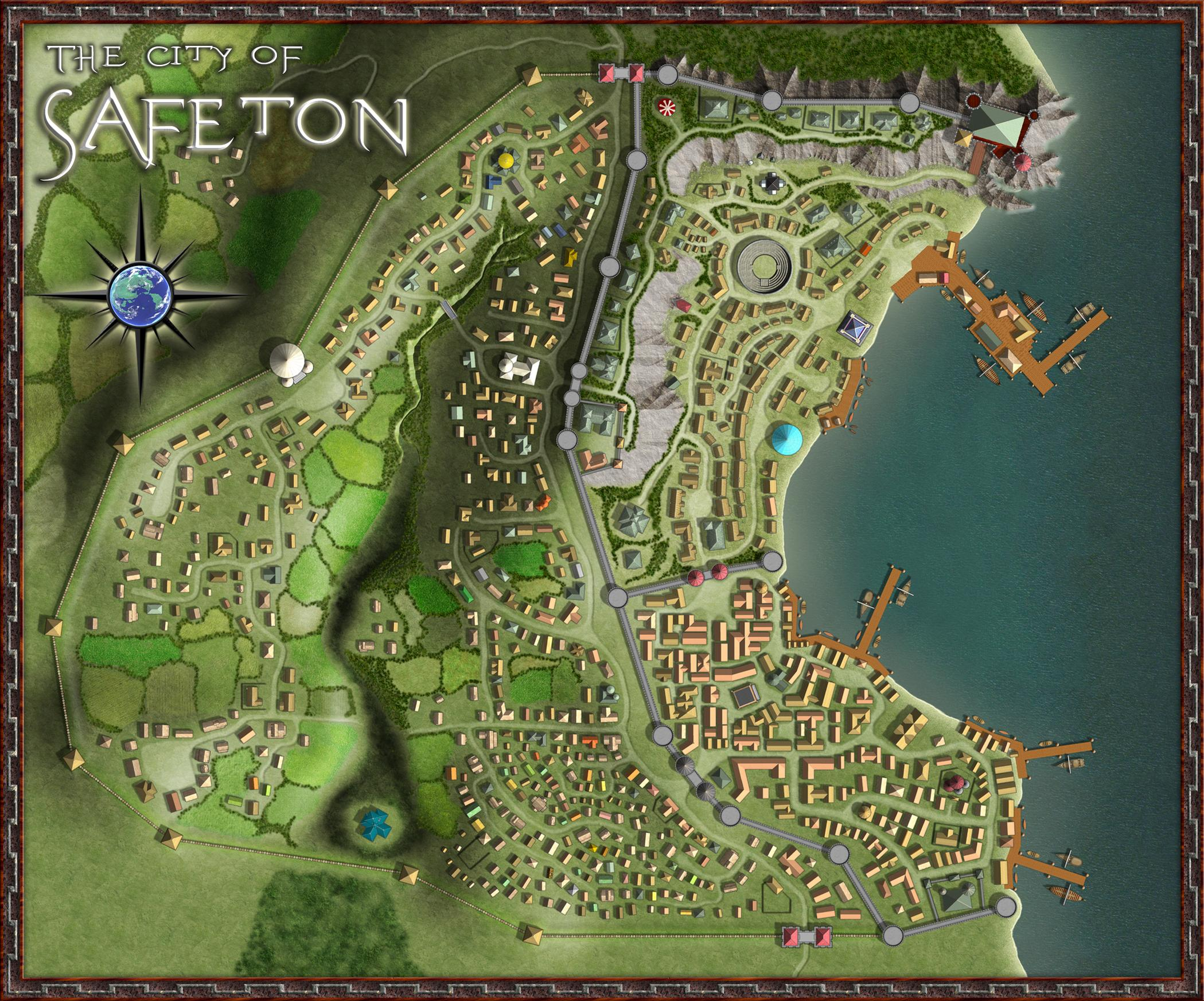"""The City of Safeton""