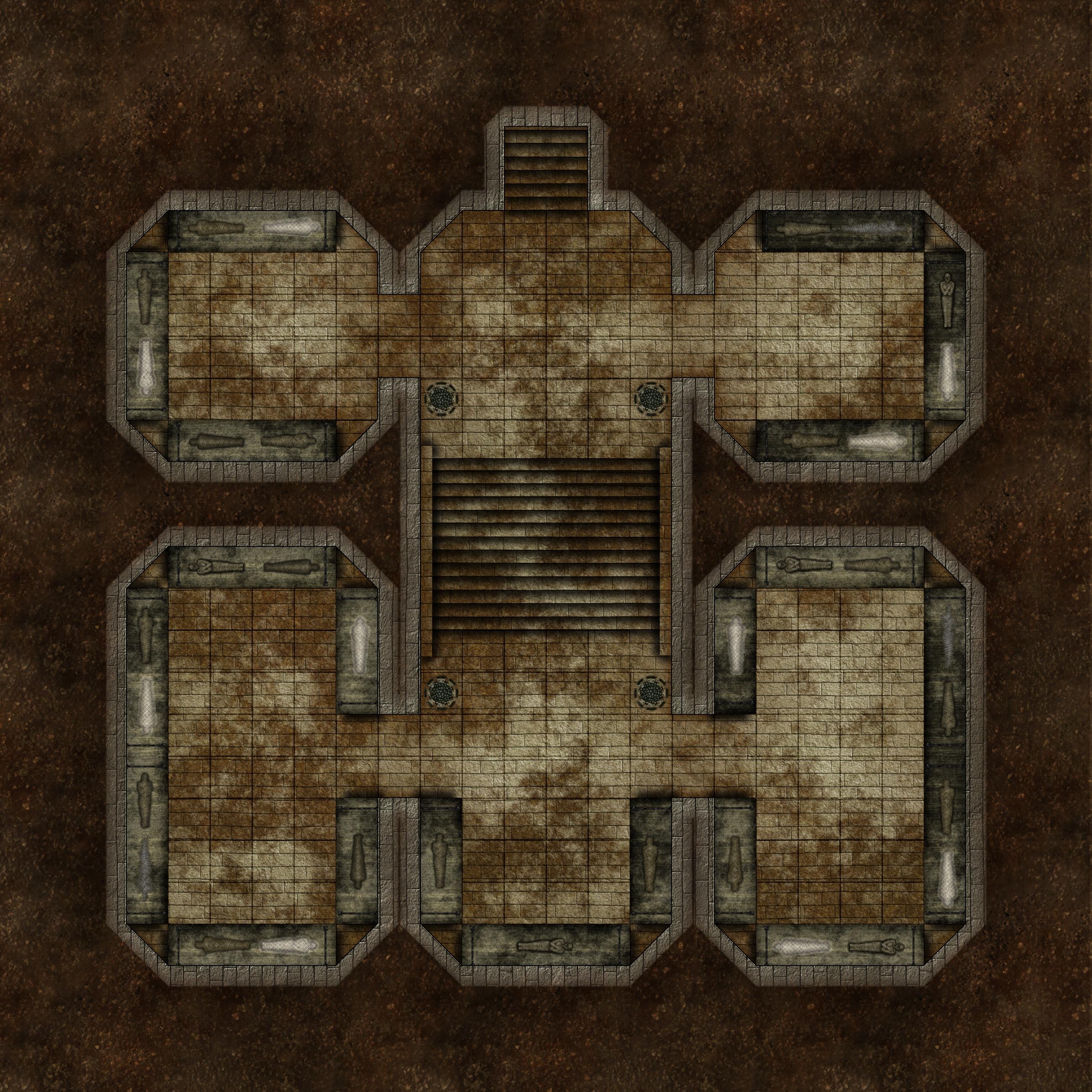 Family Burial Crypt - 4e D&D