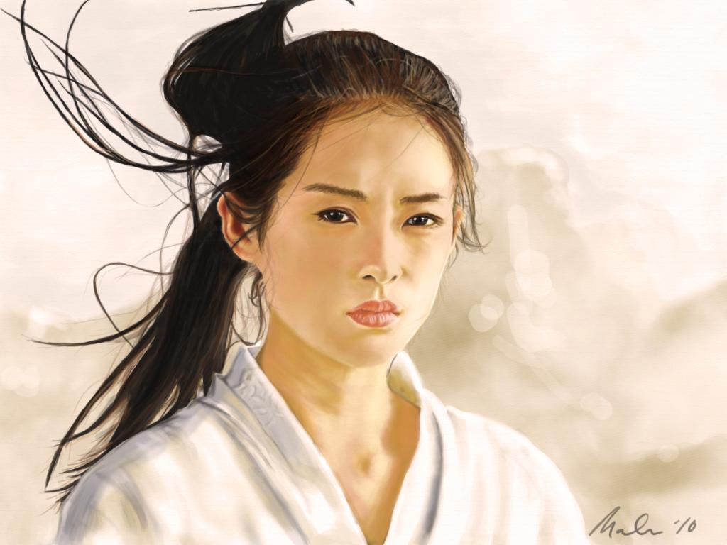 Zhang Ziyi warm