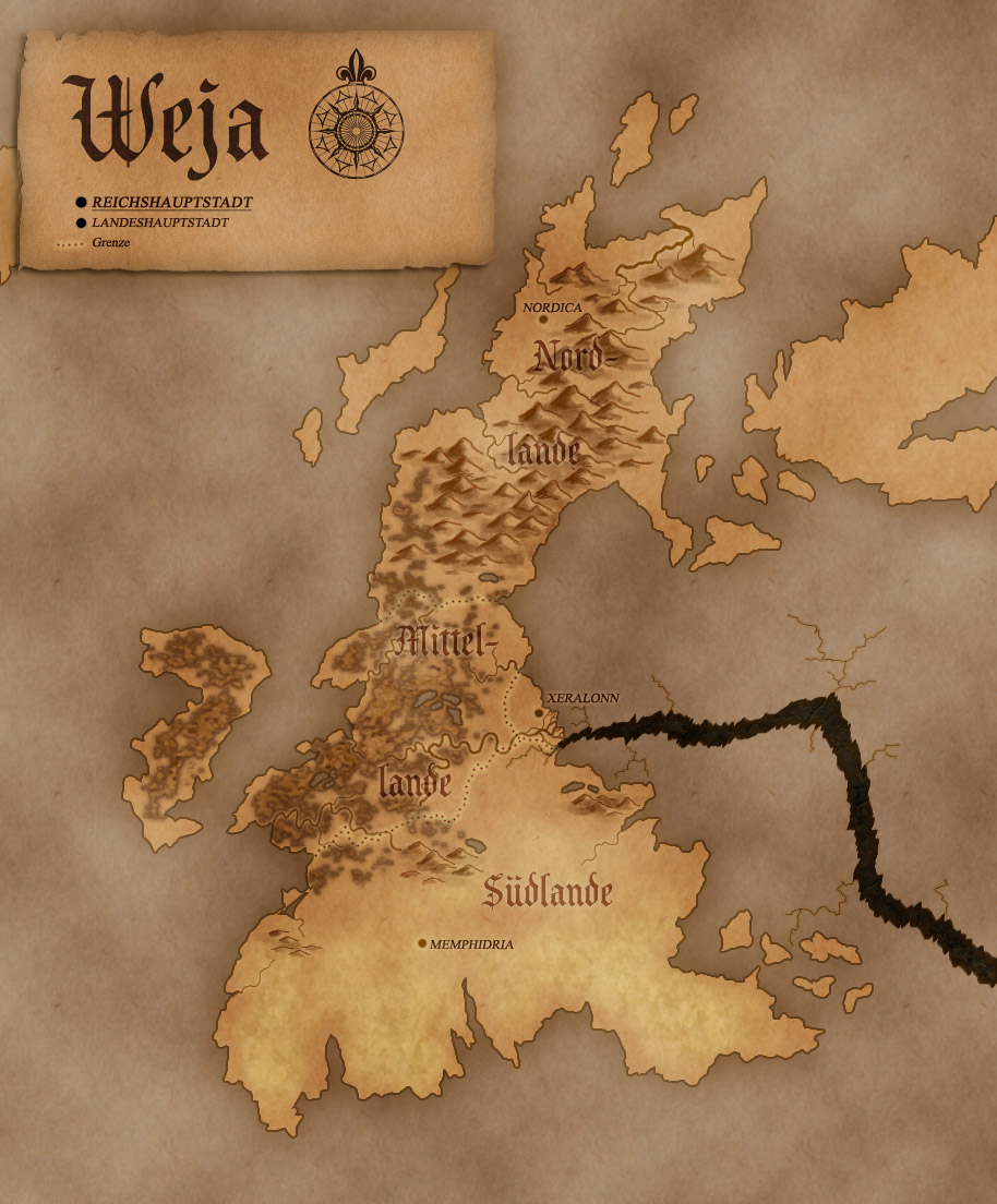 Map of Nolkor: Weja