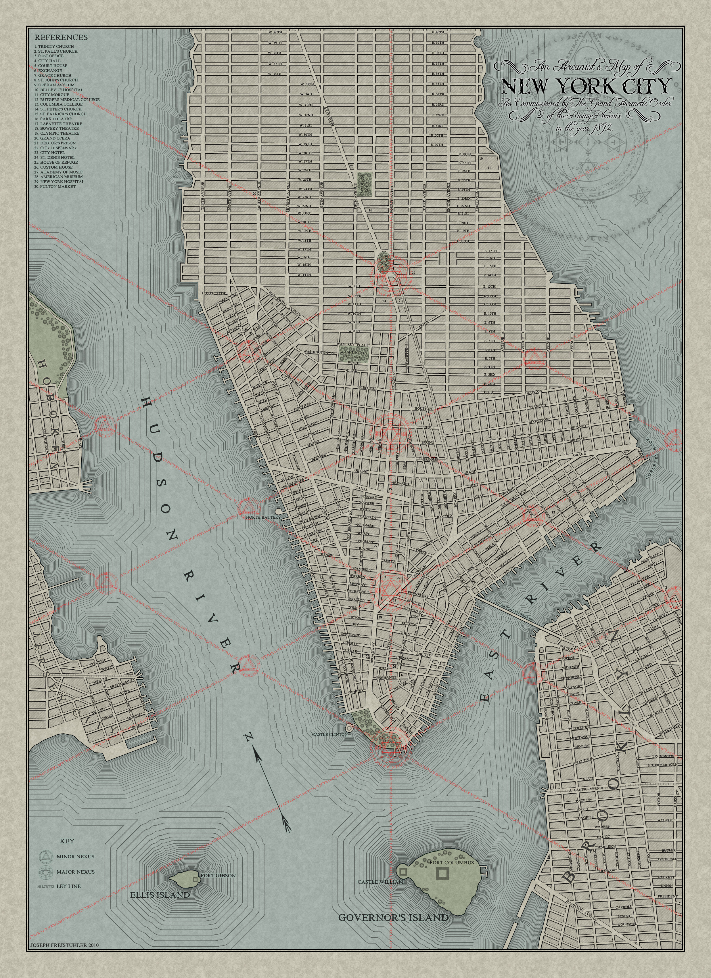 NEW YORK Challenge Map