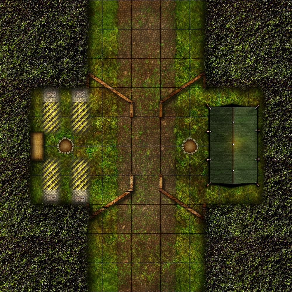 Bandit Checkpoint - 4e D&D